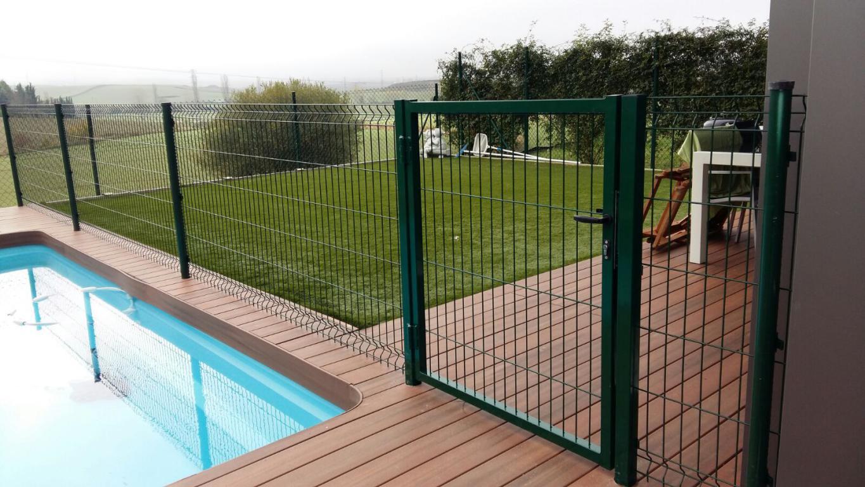 Verja cierre protecci n piscinas cercados orsal - Piscinas desmontables rigidas ...